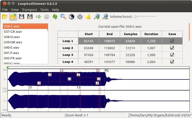 Windows 7 LoopAuditioneer 0.8.2 full